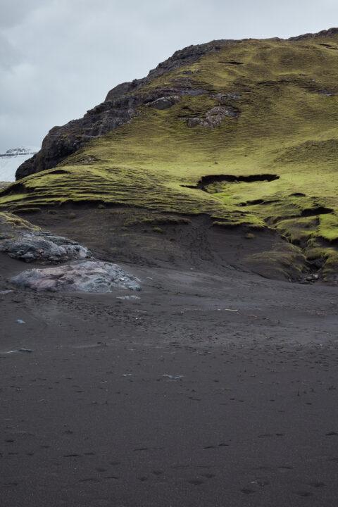 Landskab på Færøerne.