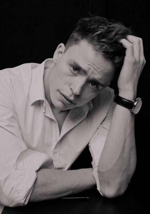 Portrætfoto af Morten tæt på